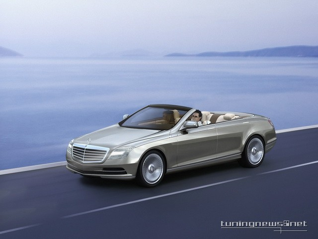 2014 s class mercedes is to drop its top for Mercedes benz ocean drive