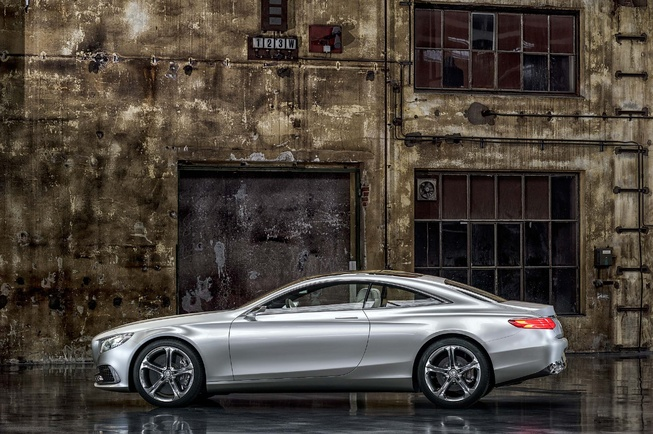 2014 mercedes benz s class coupe concept for Mercedes benz s550 coupe 2014
