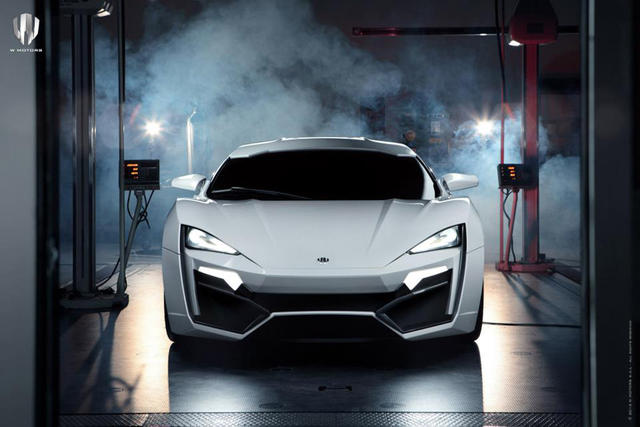 Lykan hyperspor 3 4 million supercar for W motors lykan hypersport price