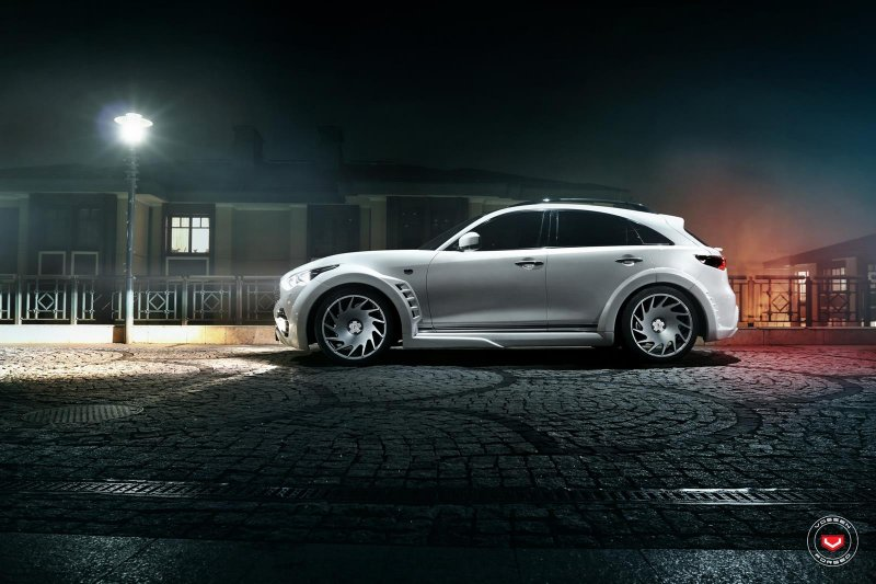 Infiniti Qx70 Widebody Busted Speed
