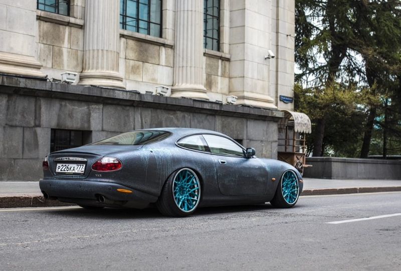 Stanced Jaguar
