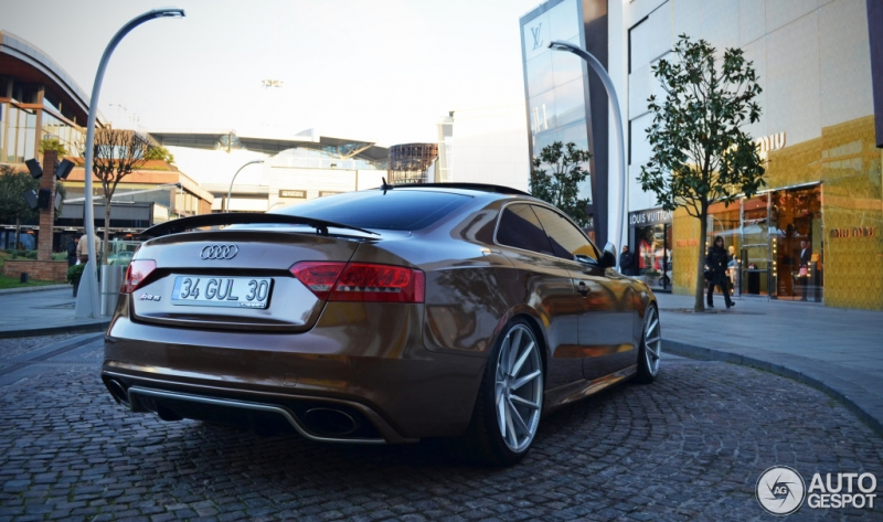 Rieger Audi Rs5 Busted Speed