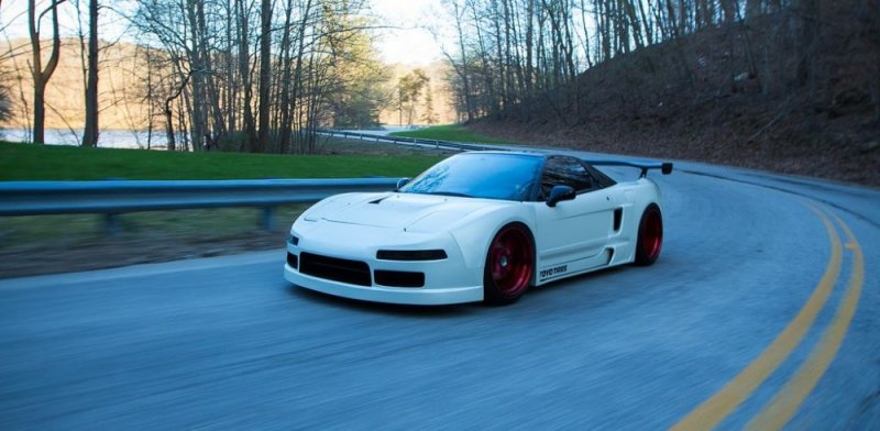 Perfect 1992 Honda Nsx Busted Speed