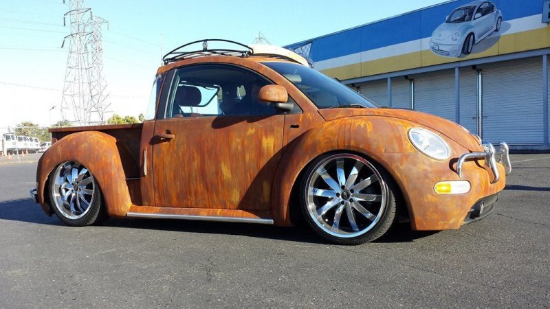 Vw New Beetle Rat Rod Truck Busted Speed