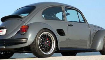 People say that Porsche is nothing but the interpretation of the VW Beatle. Well, Siegfried Rudolf made a go on...