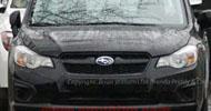 2012 Subaru Impreza spy shots