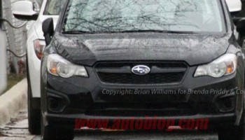 Photographers managed to take a few spy shots of the new 2012 Subaru Impreza before its unveil in the NY...