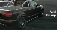 // Looks like this Audi Q7 pickup Truck isn't photoshop...