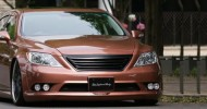 // Check  this dropped Lexus out! It has custom Copper...
