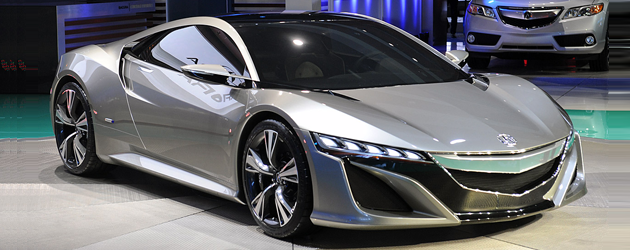 2012 Acura Nsx Concept Busted Speed