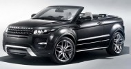 // Range Rover Evoque Convertible shows itself prior to Geneva...