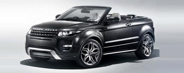 Range Rover Evoque Concertible