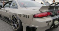 This particular Nissan S14 Silvia was inspired by German jet...