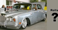 Not sure, what is this more – weird or interesting. This car began its life as 1970 Rolls-Royce Silver Shadow....