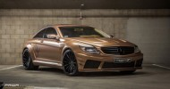 Prior Design unveiled their Mercedes CL65 AMG that includes many Black Edition panels and all of that is painted in...