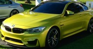 // Finally, today at Pebble Beach BMW unveiled their M4...