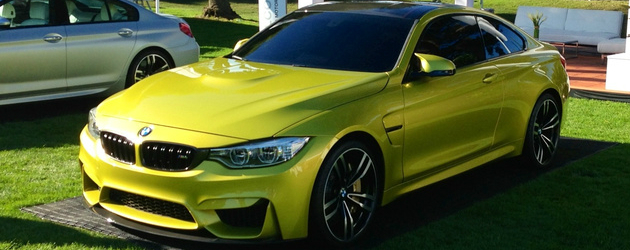 Bmw M4 Coupe Concept Busted Speed