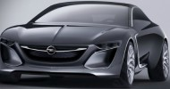 // 2013 Monza Concept revives the legendary Opel nameplate of...