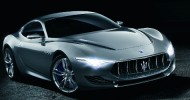 // Maserati unveiled their Alfieri concept at the Geneva Motor...