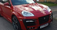 There was a listing on eBay.co.uk where Porsche Cayenne S...