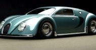 Bugatti Veyron rendered as 1945 MY