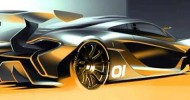 This P1 GTR rendering was sent to customers by McLaren...
